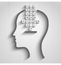 Think design vector