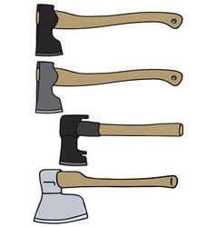 Old axes vector