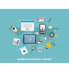 Business strategy concepts vector