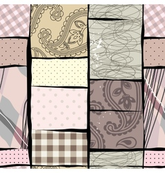 Patches collage vector