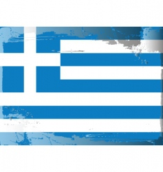 Greece national flag vector