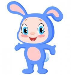 Baby bunny vector