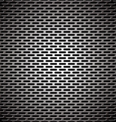Slot grill metal background vector
