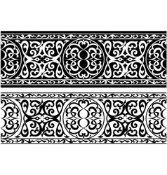 Arabian or persian ornament vector
