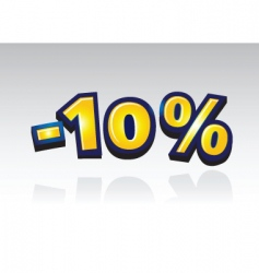10 percent reduced vector