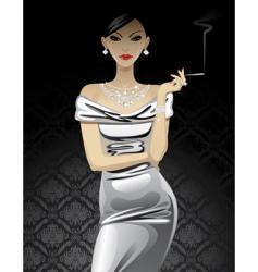 Fashion woman vector