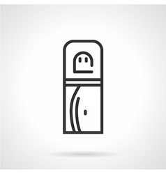 Office water cooler icon vector