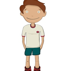 Cartoon kid vector