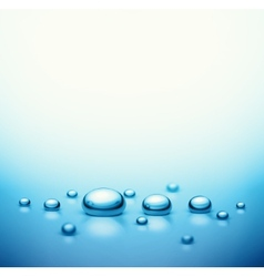 Drops background vector