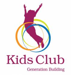 Kids club logo vector