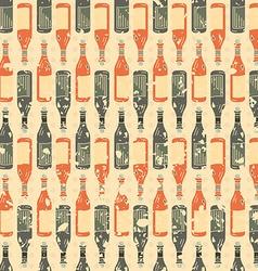 Grunge seamless texture wine vector