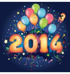 2014 new year vector