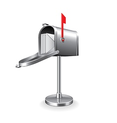 Mail box isolated vector