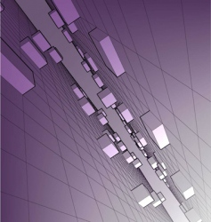 Abstract geometry vector