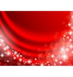 Holiday curtain vector