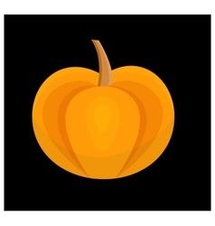 Contrast pumpkin vector