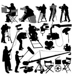 Film elements vector
