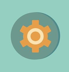 Symbol settings cogwheel icon setting and repair vector