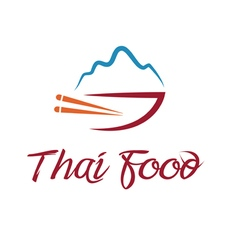 Thai food bowl vector