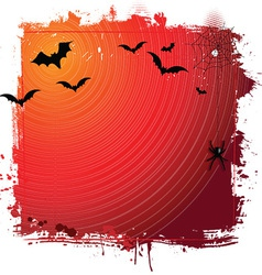 Halloween grunge background 0409 vector