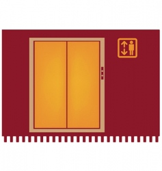 Elevator vector
