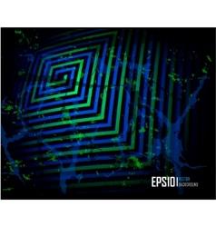 Blue scratch grunge background vector