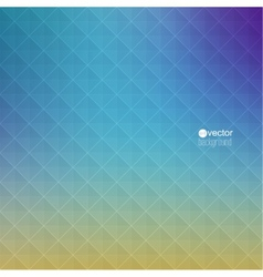 Abstract background with triangles and pattern of vector
