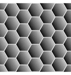 Hexagons pattern vector