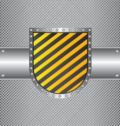 Metal wire and sign vector
