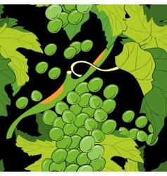 Grapevine pattern vector