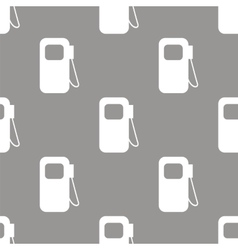 Gas station seamless pattern vector
