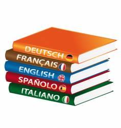 Languages manuals vector