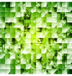 Tech green iridescent background vector