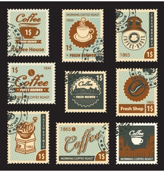 Coffee brand vector