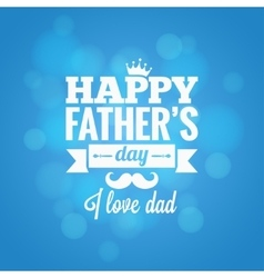Fathers day party design background vector