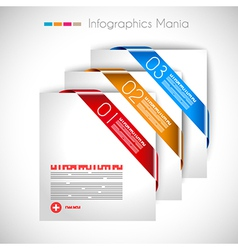Infographic layout template vector