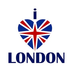 I love london t-shirt print tee typography vector