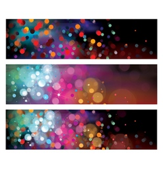 Background lights vector