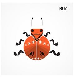 Bug sign vector