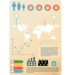 An infographics vector