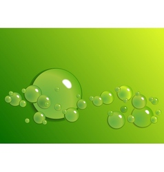 Background from the drops vector