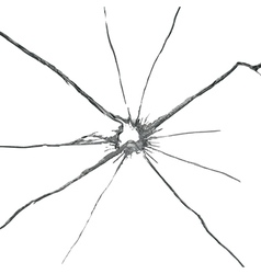 Broken glass background vector