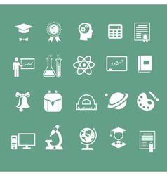 School signs icons vector