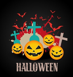 Abstract halloween art vector