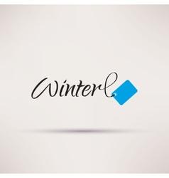 Icon of sale seasonal winter isolated vector