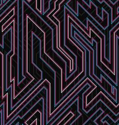 Neon curve seamless texture vector