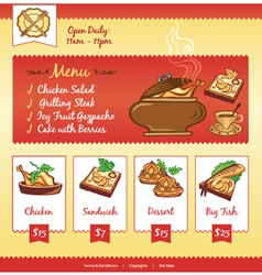 Food web template vector