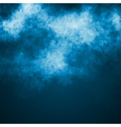 Blue dark sky vector