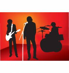 Rock out vector