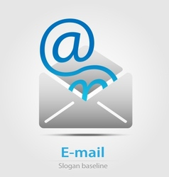 Email business icon vector